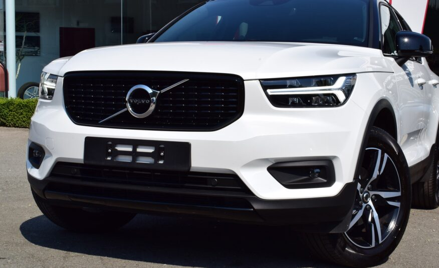 VOLVO XC40 T3 163pk R-DESIGN – LEDER/ALCANTARA – NAVIGATIE – FULL LED – CAMERA – TREKHAAK – HARMAN KARDON – VERKOCHT