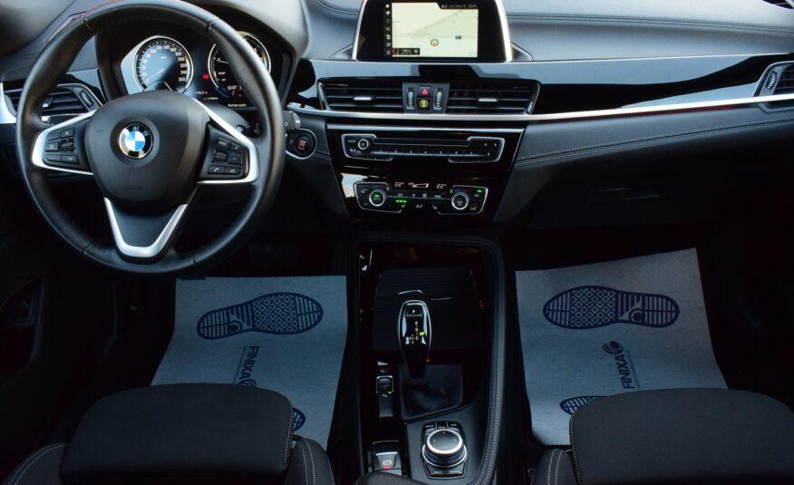 BMW X2 1.5iA SPORTZETELS – NAVIGATIE – FULL LED – PDC v/a – CAMERA – 18″ ALU – VERKOCHT